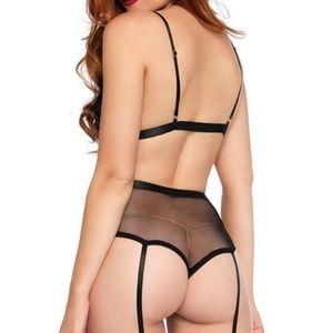 Leg Avenue Intimates & Sleepwear - Sexy Sweetheart 2 piece bralette lingerie set